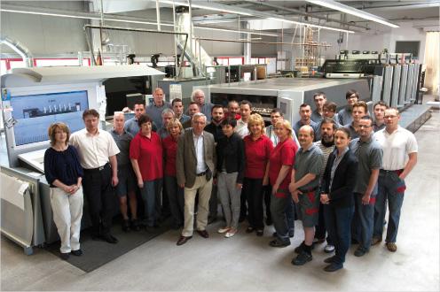 Unser Druckerei Weidner Team